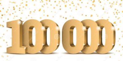 100 000 !