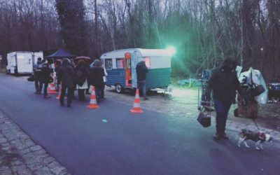 Notre caravane dans un film ! Et quelques infos Saison 2021